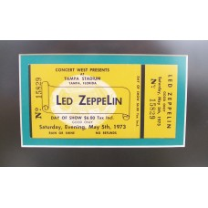 Led Zeppelin Houses Of The Holy Ticket