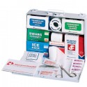 Full, Metal First Aid Kit - Vehicle
