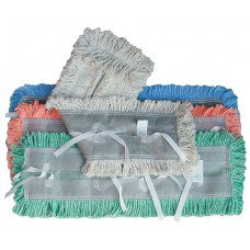 Dust Mop Pretreated Disposable - White