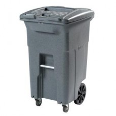 Secure Document & Waste Caster Cart