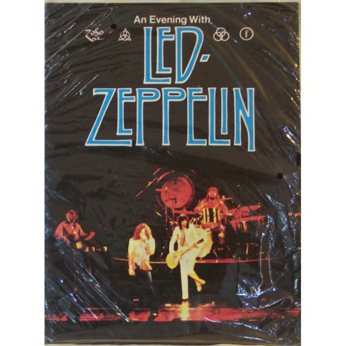 led zeppelin 1977 tour book. Black Bedroom Furniture Sets. Home Design Ideas